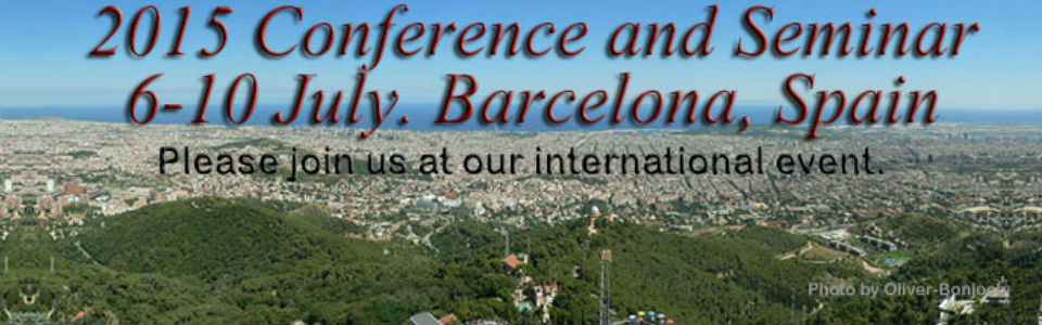 2015 Barcelona Conference and Seminar Information